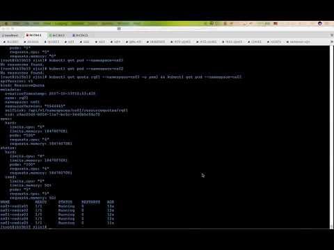 kube-arbitrator: preemption demo v0.1