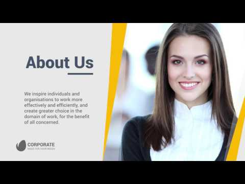 Top 5 Corporate Presemtation Slideshow Free After effect Template.