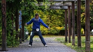 Diabolo Juggler - Crazy Juggling Skills