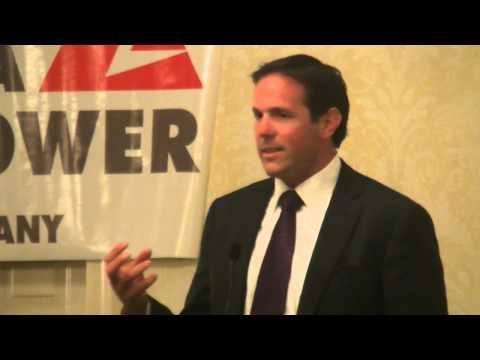 Brian Griese Speaks at Awards Presentation