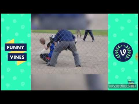 Humorous fail complication of baseball and softball