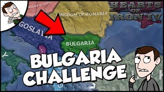 Hearts of Iron 4 HOI4 Bulgaria Challenge (Road to 56 Mod)