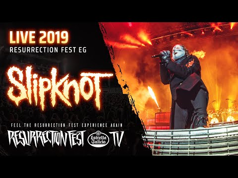 SHROOM - Slipknot 'Psychosocial' Live In Spain [Video]