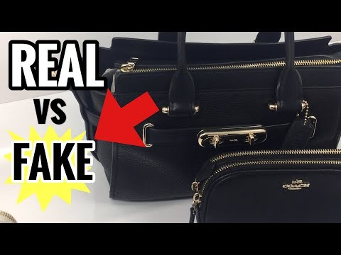 HOW TO SPOT A FAKE COACH BAG | BEFORE YOU BUY A COACH HANDBAG