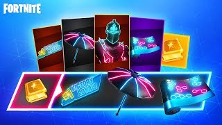 The NEW Fortnite NEO LEGENDS Pack...