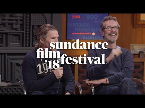 Cinema Cafe with Ethan Hawke and Rupert Everett