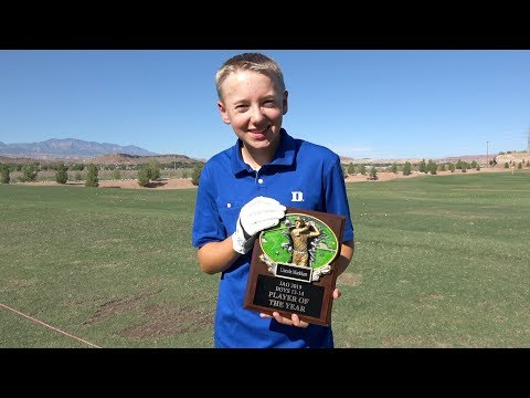 I Won Junior Golfer Of The Year!
