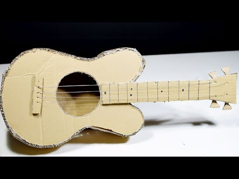 how-to-make-a-cardboard-guitar-at-home