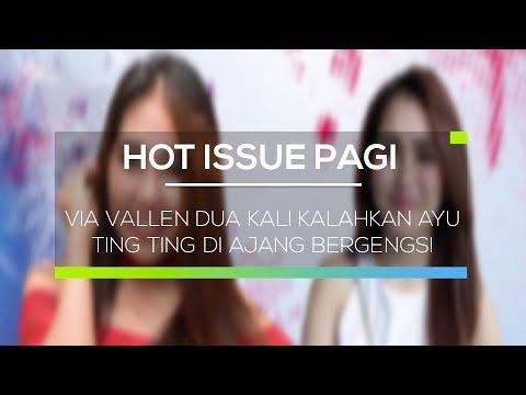 Via Vallen Dua Kali Kalahkan Ayu Ting Ting di Ajang Bergengsi - Hot Issue Pagi