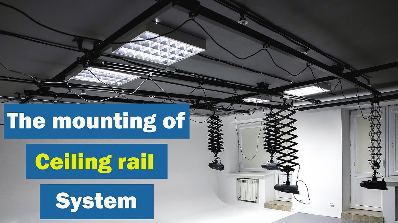 The Mounting Of Rigerd Ceiling Rail Pantograph System