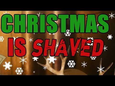 Friends don't let friends have hair, Christmas Is Shaved/2018 edition