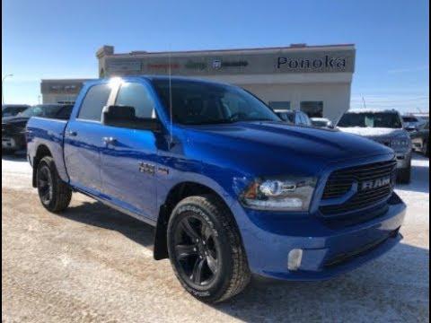 2018 Ram 1500 Sport Blue