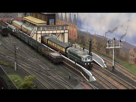 The Midland Railex - Model Railway Exhibition - 2016 - 4K
