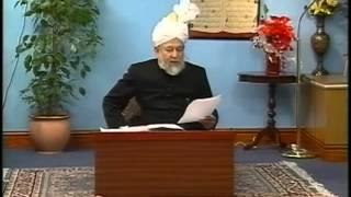 Urdu Tarjamatul Quran Class #115, Surah Yunus v. 95-110, Islam Ahmadiyyat