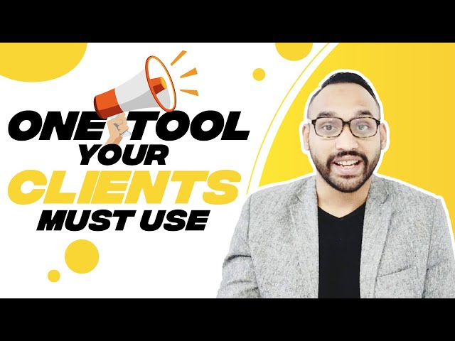 One tool your clients must use | SMMA with Abul Hussain