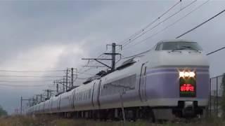 中央東線 特急スーパーあずさ & あずさ   109 単線区間(岡谷~下諏訪)高速通過