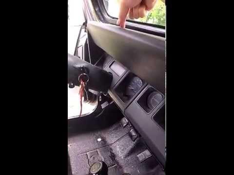 How To Fix Leaky Dash - 1994 Jeep Wrangler