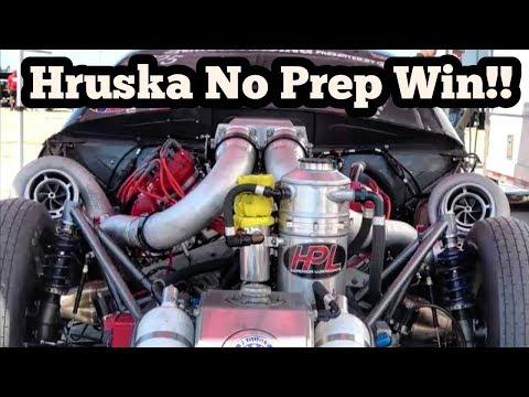 HPL Harry Hruska's Twin Turbo Camaro No Prep Kings Wins!