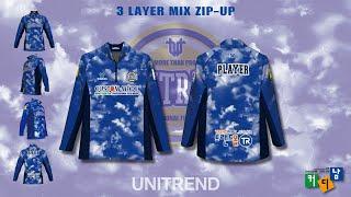 Custom 3 Layer Zip-up Jacket D…