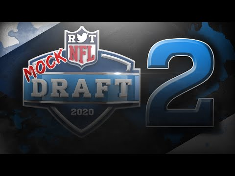 2020 NFL Mock Draft   2 Rounds With Trades