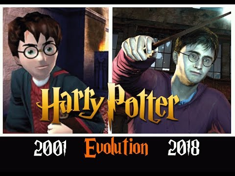 Эволюция игр Harry Potter | все части [2001 - 2018]
