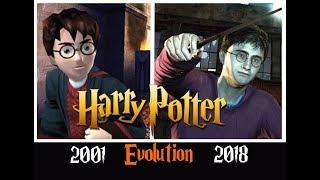 Эволюция игр Harry Potter | все части [2001 - 2018]