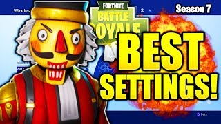 BEST FORTNITE CONSOLE SETTINGS PS4/XBOX SEASON 7 FORTNITE BEST CONSOLE SETTINGS & SENSITIVITY!