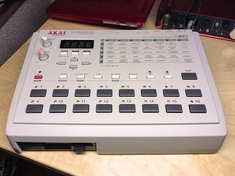 Akai s20 Ableton MIDI Beat