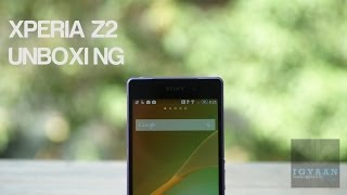 Sony Xperia Z2 Unboxing and Hands On Review - Purple