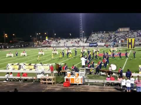 South Panola High School Band Half-time show