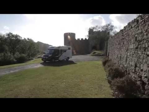 Practical Motorhome visits Wales