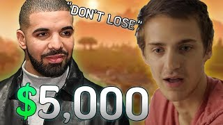 Drake Bets Ninja $5,000 He Won't Clutch The Win... Then This Happened!