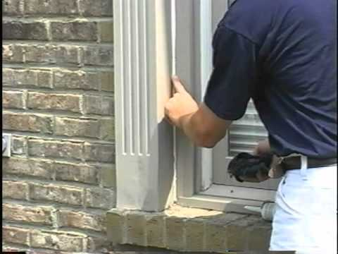 Exterior wood trim caulking 39 youtube - What type of wood for exterior trim ...