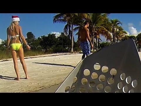 Metal Detecting on Bikini Beach
