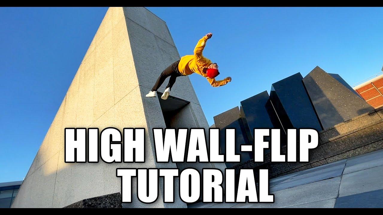 Wallflip Tutorial (Backflip)   How to learn Parkour & Freerunning