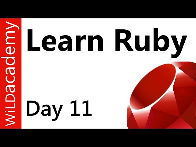 Ruby Programming - 11 - counter - index - .each do