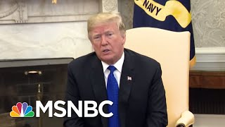President Trump On Wrong Side Of Whether People Should Be Paid For Working | Rachel Maddow | MSNBC