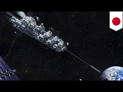 Japan's space elevator to connect Earth with ISS via cable - TomoNews