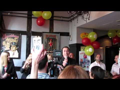 ESCKAZ in Copenhagen: Sergej Ćetković - Dva minuta (at Montenegro party)