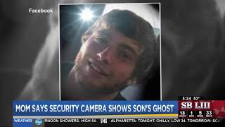 Mom says security camera shows son's ghost