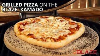 Grilled Pizza on the Blaze Kamado | BBQGuys.com