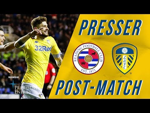 Marcelo Bielsa | Reading 0-3 Leeds United | Post-match reaction