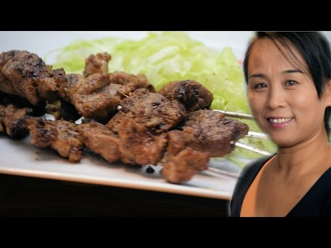 Chinese Spicy Lamb Skewer Recipe (Chinese Style Cooking Recipe)