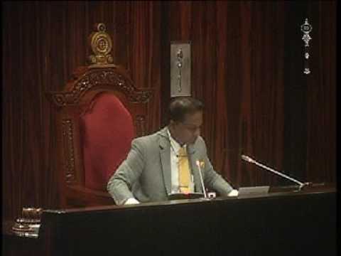 Parliament of Sri Lanka - 17 November 2016 Part 3