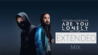 Extended Are you lonely (0riginal MIKS) Alan Walker x Steve Aoki - ft. ISAK feEDMe