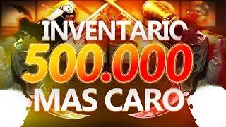 EL INVENTARIO MÁS CARO DEL MUNDO DE CS:GO | 500.000$ EN SKINS