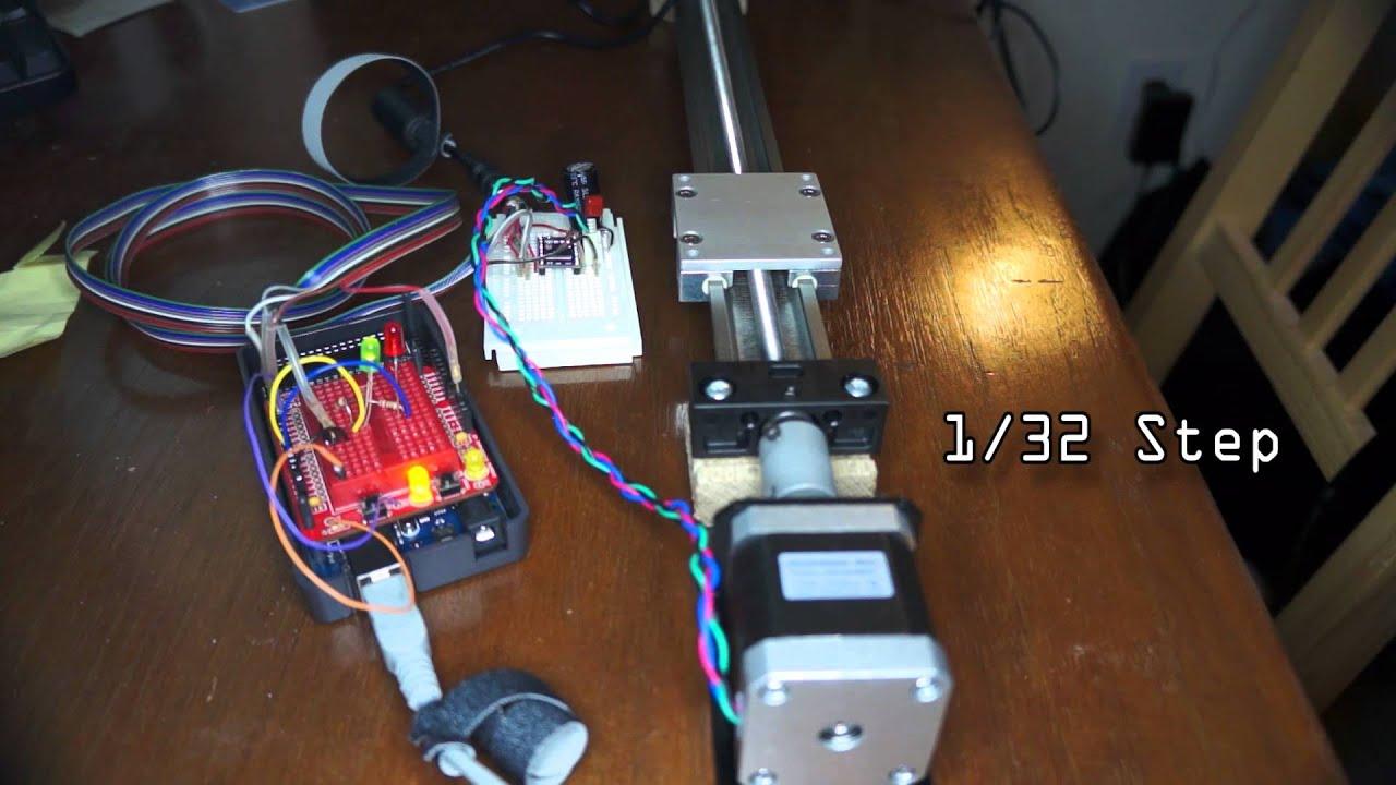 Igus slw 0630 sparkfun stepper 400 steps pololu for Micro stepper motor datasheet