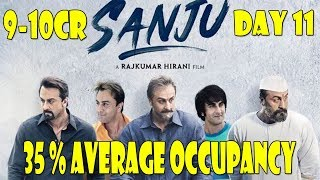 Sanju Movie Audience Occupancy And Collection Estimates Day 11