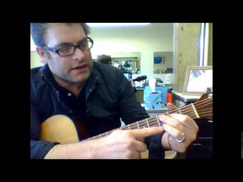 How To Play Cmaj9 Guitar Chord On The Acoustic Guitar Youtube