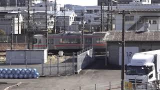 東海道本線313系普通列車興津行き送り込み回送通過シーン2021.02.06.